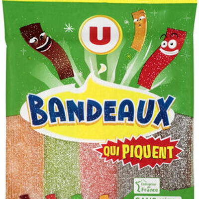 Bonbons longs gélifiés qui piquent (U)