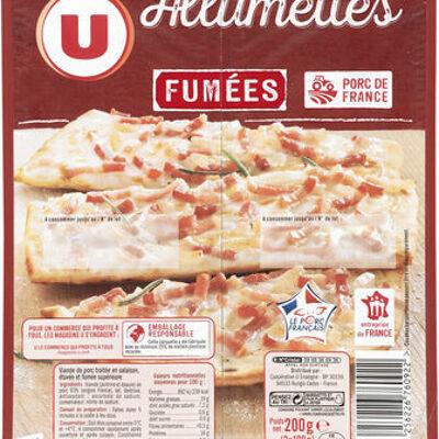 Allumettes de porc fumées viande de porc française (U)