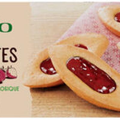Barquettes à la fraise (U bio)