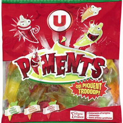 Bonbons gélifiés piments (U)