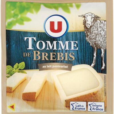 Tomme de brebis au lait pasteurisé 34%mg (U)