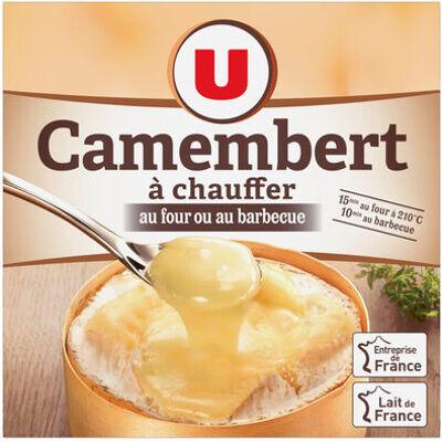 Camembert à chauffer pasteurisé 23% de mg (U)