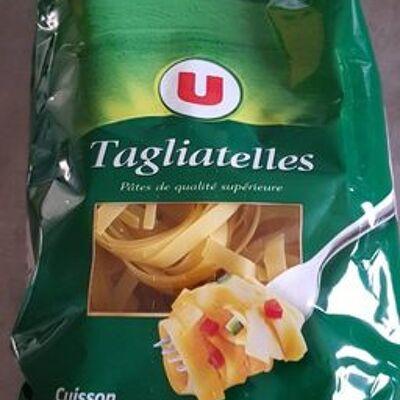 Tagliatelles nids qualité supérieure (Super u)
