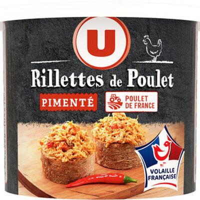 Rillettes de poulet pimenté vvf (U)