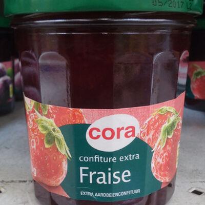 Confiture extra fraise (Cora)