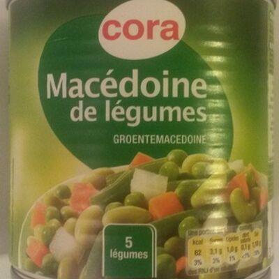 Macédoine de légumes (5 légumes) (Cora)