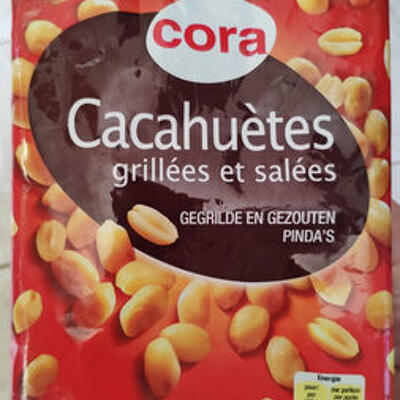 Cacahuètes grillées et salées (Cora)