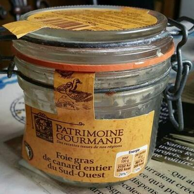 Foie gras de canard entier du sud-ouest (Patrimoine gourmand)
