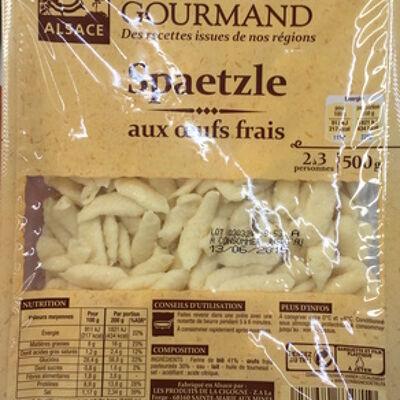 Spaetzle aux œufs frais (Patrimoine gourmand)