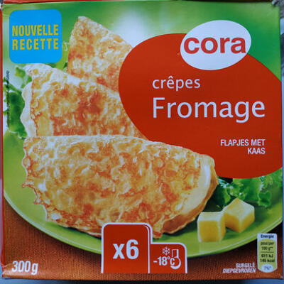 Crêpes fromage (Cora)