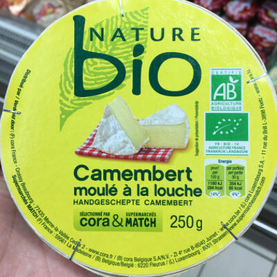Camembert moulé à la louche (Nature bio)