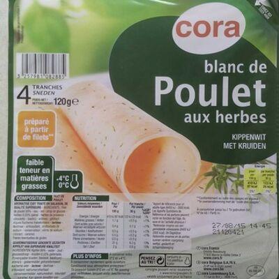 Blanc de poulet aux herbes (Cora)