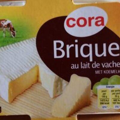 Brique au lait de vache (32% mg) (Cora)