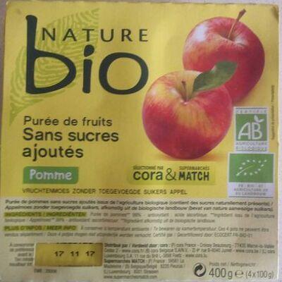 Purée de fruits pomme (Nature bio)