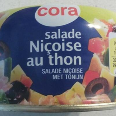 Salade niçoise au thon (Cora)