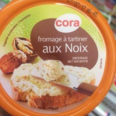 Fromage à tartiner aux noix (Cora)