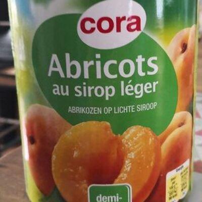Abricots au sirop léger (Cora)