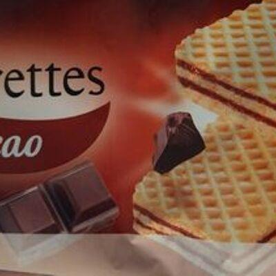 Gaufrettes cacao (Belle france)