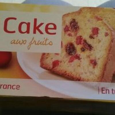 Cake aux fruits (Belle france)