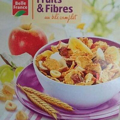 Fruits & fibres au blé complet (Belle france)