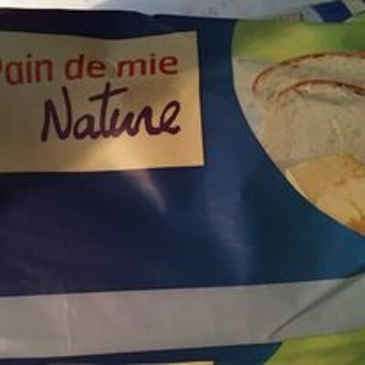Pain mie nature (Belle france)