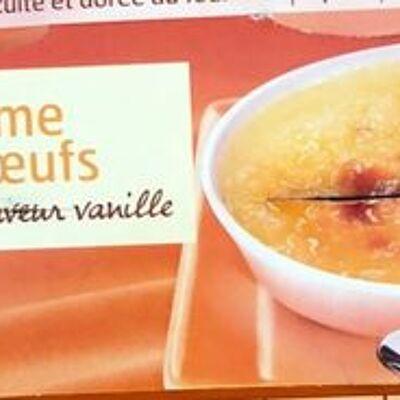 Crème aux œufs saveur vanille (Belle france)