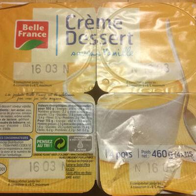 Crème dessert vanille (Belle france)