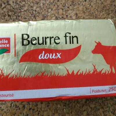 Beurre fin doux (Belle france)