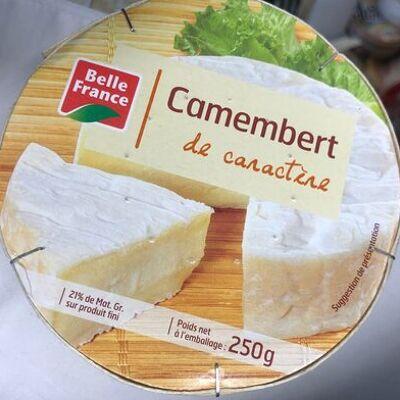 Camembert caractere bf, (Belle france)