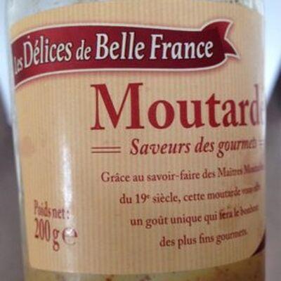 Moutarde saveur des gourmets (Les délices de belle france)