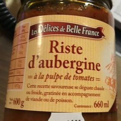 Riste d'aubergine (Les délices de belle france)