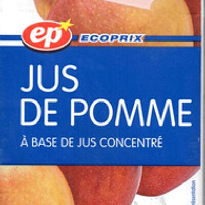 Jus de pomme (Ecoprix)