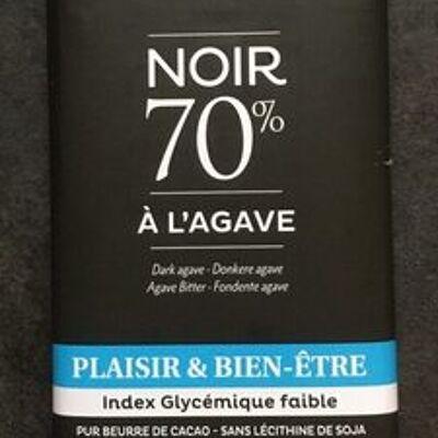 Chocolat noir 70% à l'agave (Dardenne)