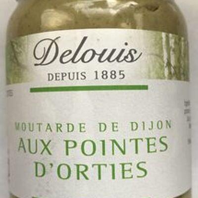 Moutarde de dijon aux pointes d'orties (Delouis)