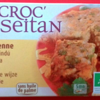 Croc' galette seitan à l'indienne (Soy)