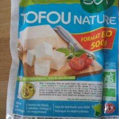 Tofou nature (Soy)