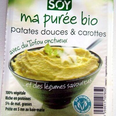 Purée bio patates douces et carottes (Soy)