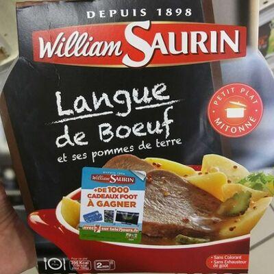 Langue de boeuf et ses pommes de terre (William saurin)