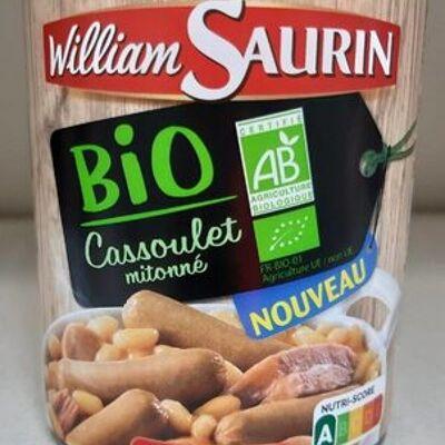 Cassoulet mitonné bio (William saurin)