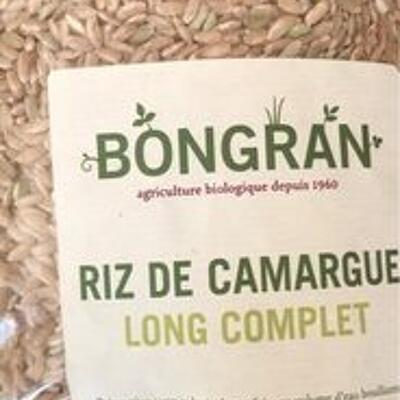 Riz de camargue long complet (Bongran)