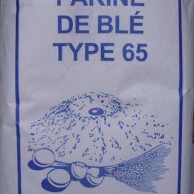 Farine de blé type 65 (Sans marque)
