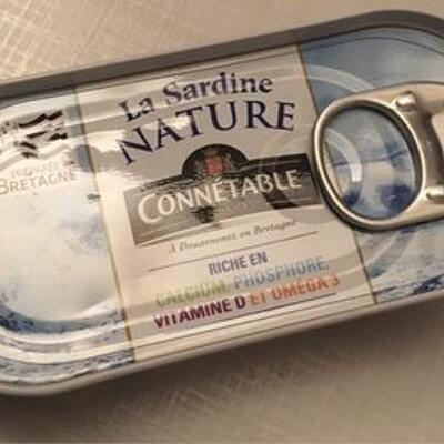 Sardine nature (Connetable)