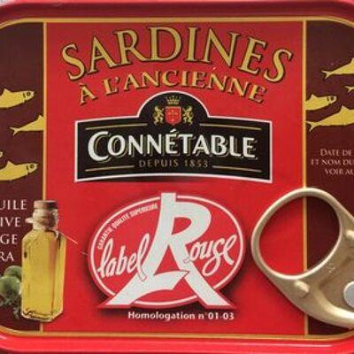 Sardines à l'ancienne label rouge (Connétable)