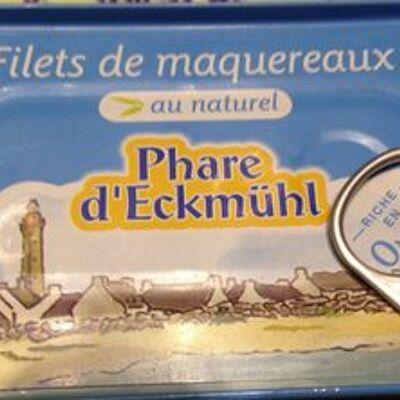 Filets de maquereaux au naturel (Phare d'eckmühl)