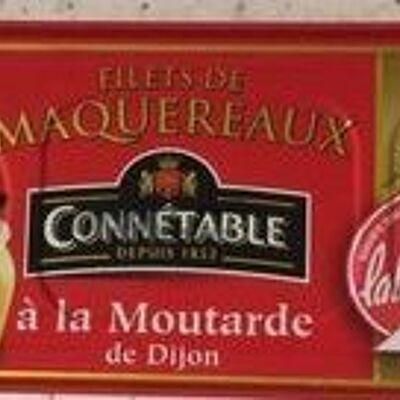 Filets de maquereaux à la moutarde de dijon (Connétable)