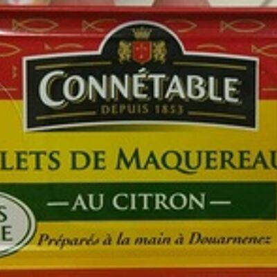 Filets de maquereaux au citron (Connétable)