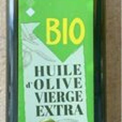 Huile d'olive vierge extra bio (Leader price)