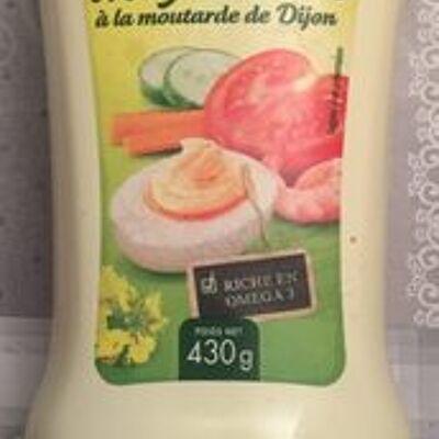 Mayonnaise a la moutarde de dijon (Leader price)