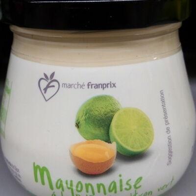Mayonnaise à la pulpe de citron vert (Marché franprix)