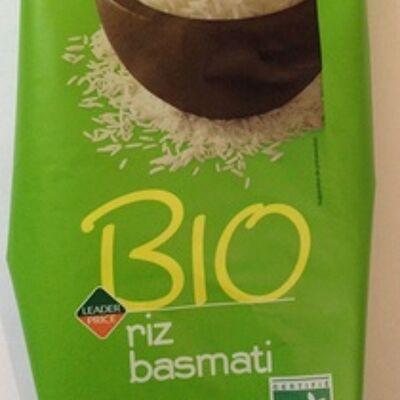 Riz basmati bio (Leader price)